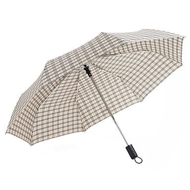boy® בד בגדי ריקוד גברים / בגדי ריקוד נשים סאני וגשום / עמיד לרוח מטריה מתקפלת