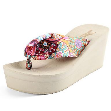 Pantofle damskie Pantofle Zwyczajny Dzianina Jeden kolor