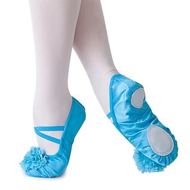 De Zapatos Ballet Seda Plano Tacón Zapatillas Personalizables CoxerWQdBE