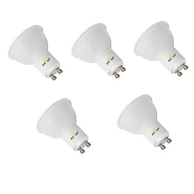EXUP® 5個 9W 850-950lm GU10 LEDスポットライト MR16 12 LEDビーズ SMD 2835 装飾用 温白色 クールホワイト 110-130V 220-240V