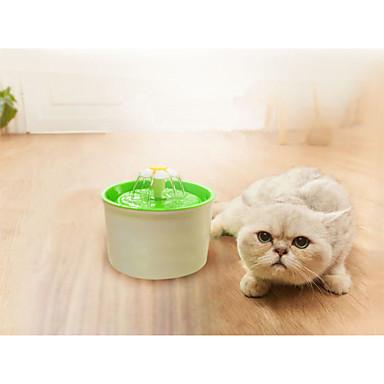 L Katze / Hund Schalen & Wasser Flaschen Haustiere Schüsseln & Füttern Langlebig Orange / Grün / Blau
