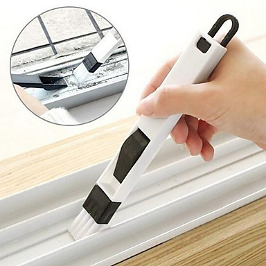 Window Groove Cleaning Brush Nook Cranny Folding Brush Cleaning Tool