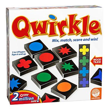 Qwirkle משחקי לוח משפחה הפגת מתחים וחרדה צעצועים לחץ לחץ דם 108 pcs בגדי ריקוד ילדים בנים בנות צעצועים מתנות