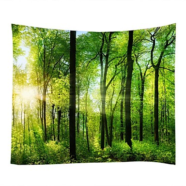 Landscape Still Life Wall Decor 100% Polyester Classic Traditional Wall Art, Wall Tapestries of