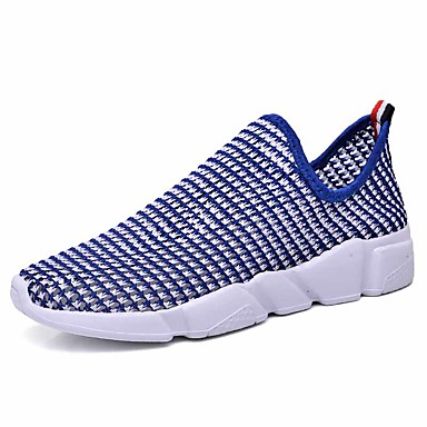 Men's Tulle Spring / Fall Comfort Athletic Shoes Basketball Shoes Black / Red / Blue