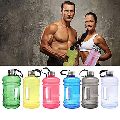 Butelka na wodę Wielofunkcyjne Casual / Fitness Tworzywa sztuczne Błękit nieba / Czerwony / Zielony - 1 pcs