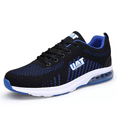 בגדי ריקוד גברים רשת אביב / סתיו נוחות נעלי אתלטיקה הליכה שחור / כחול ים