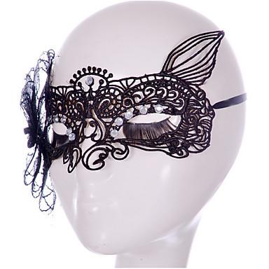 Maski na Halloween Motyw Garden / Klasyczny styl / Święto Pleciona tkanina Artystyczne / Retro / Klasyczny / Elegancja i luksus 1 pcs Sztuk Dla dorosłych Prezent