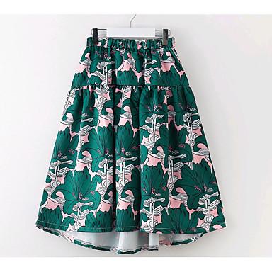 חצאית פרחוני בנות ילדים