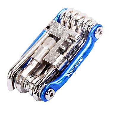 Javító szerszámok és készletek Hordozható, csavarhúzó Kerékpározás / Kerékpár / Mountain bike Aluminum Alloy Sárga / Piros / Kék - 1 pcs