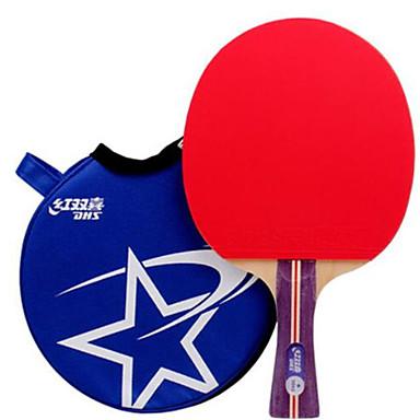 DHS® R1002 R1003 FL Ping Pang/מחבטי טניס שולחן גוּמִי כוכב 1 ידית ארוכה פצעונים