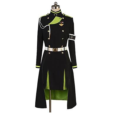 Zainspirowany przez Seraph of the End Cosplay Anime Kostiumy cosplay Garnitury cosplay Inne Długi rękaw Top / Spódnica / Rękawiczki Na Męskie / Damskie