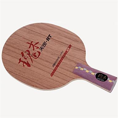 DHS® DI-RT CS Ping Pang/מחבטי טניס שולחן לביש עמיד עץ סיבי פחמן 1