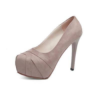 Punta Innovador 06354566 Mujer cerrada Materiales claro Personalizados Otoño Primavera Vestido Rosa Tacones Zapatos Negro UCXSwqX0O