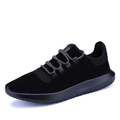 בגדי ריקוד גברים טול סתיו / חורף נוחות נעלי אתלטיקה הליכה שחור / בז' / אפור