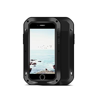 מגן עבור Apple iPhone 8 iPhone 7 מוגן מים / עפר / הלם כיסוי מלא צבע אחיד קשיח מתכת ל iPhone 8 iPhone 7
