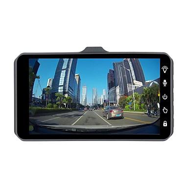 billige Bil-DVR-ziqiao jl-a6t 1080p full HD dual lens bil dvr kamera nattesyn videoopptaker parkeringsskjermer