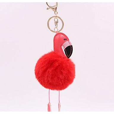 חיה מצדדים במחזיק מפתחות דמוי עור מזכרות מחזיקי מפתחות - 1 pcs כל העונות