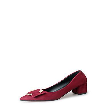 Mulheres Sapatos Couro Ecológico Verão Solados com Luzes Conforto Sandálias Salto Agulha Dedo Apontado Presilha para Casual Social Preto