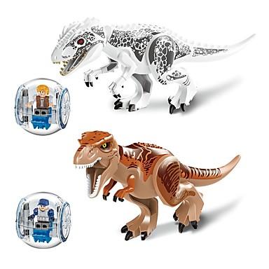 hesapli Oyuncaklar ve Oyunlar-LELE Legolar Askeri bloklar İnşaat Seti Oyuncakları Dinozor Hayvan Asker uyumlu Legoing Hayvanlar Genç Erkek Genç Kız Oyuncaklar Hediye / Eğitici Oyuncak