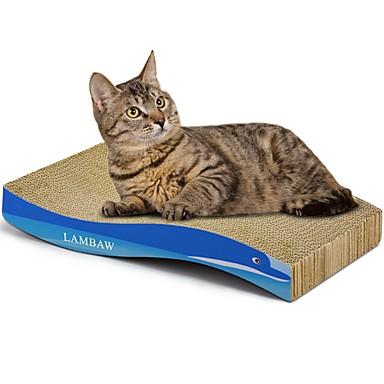 אומנות גירוד נייר ויצירה בנייר הדפסות אומנות צבעוני משטח גירוד מסייע בהפחתת  משקל נפית החתולים נייר קרטון עבור חתול צעצוע לחתול