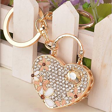 רומנטיקה / חתונה / יומהולדת מצדדים במחזיק מפתחות סגסוגת אבץ מזכרות מחזיקי מפתחות - 1 pcs כל העונות