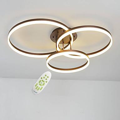 3 tête moderne simplicité led plafonnier acrylique salon salle à manger chambre luminaire