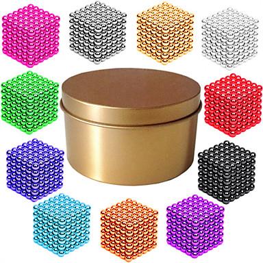 hesapli Oyuncaklar ve Oyunlar-216*1   216*2   216*3 pcs Mıknatıslı Oyuncaklar Manyetik Toplar Legolar Süper Güçlü Nadir Mıknatıslar Neodymium Mıknatıs Bulmaca küpü Manyetik Manyetik Tip profesyonel Seviye 3mm Kendin-Yap Çocuklar