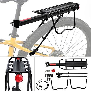 cb3e13791 Cremalheira da carga da bicicleta Tecido Ultra Leve Fácil de Instalar  Aluminum Alloy Bicicleta De Montanha   BTT Ciclismo   Moto - Preto