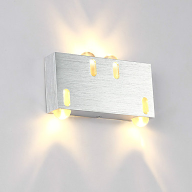 Modern 4W LED Wall Sconce Indoor Hallway Up Down Spot ...