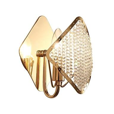 QIHengZhaoMing Kryształ / Ochrona oczu LED / Nowoczesny Lampy ścienne Salon / Gabinet / Pokój do nauki Metal Światło ścienne 110-120V / 220-240V 5 W / E14 / E12