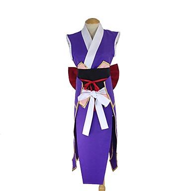 Zainspirowany przez Fairy Tail Erza Scarlet Anime Kostiumy cosplay Garnitury cosplay Inne Bez rękawów Pas / Łuk / Więcej akcesoriów Na Męskie / Damskie