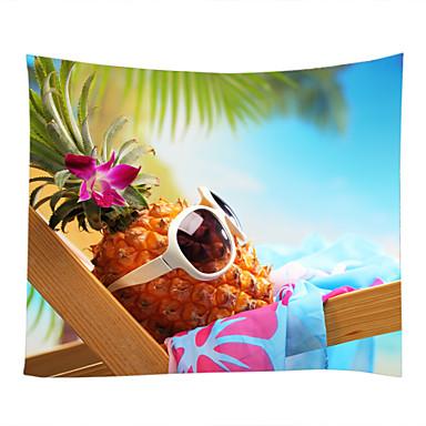 Motyw plażowy / Jedzenie i picie Dekoracja ścienna 100% poliester Nowoczesny Wall Art, Ścienne Gobeliny Dekoracja
