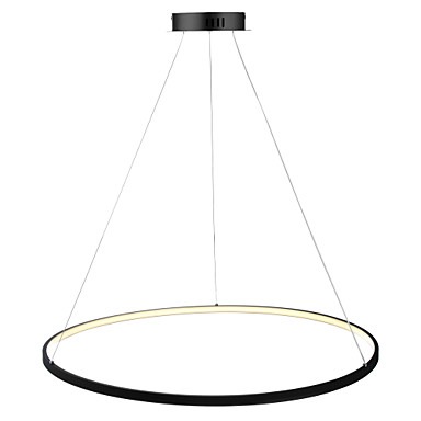 Ecolight™ Circular Pendant Light Ambient Light - LED, 110-120V / 220-240V, Warm White / White / Dimmable With Remote Control, LED Light