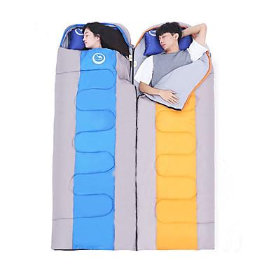 Saco de dormir Ao ar livre Casal (L200 cm x C200 cm) -5-15°C Largura Dupla Manter Quente Á Prova de Humidade Prova-de-Água Portátil Ultra