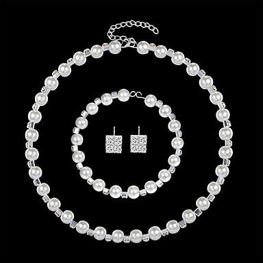 Damskie Biżuteria Ustaw - Europejskie, Moda, Elegancja Zawierać Biały Na Ślub Codzienny