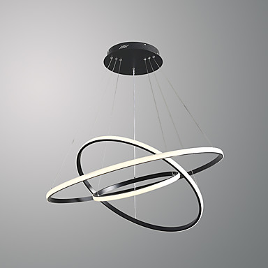 OBSESS® 3 światła Okrągły Lampy widzące Światło rozproszone - Styl MIni, 110-120V / 220-240V Źródło światła LED w zestawie / 15/10 ㎡ / LED zintegrowany / FCC