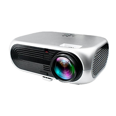 abordables Proyectores-VS 508+ DLP LED Proyector 2600 lm Apoyo 1080P (1920x1080) 38-180 pulgada / WVGA (800x480) / ±15°