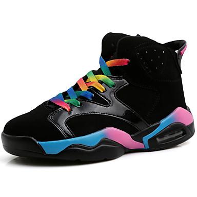 06647155 Chaussures Basketball Chaussures Automne Plat Blanc d'Athlétisme Confort Unisexe Printemps ciel en Talon Arc Noir Synthétique qyZTXcwq1H