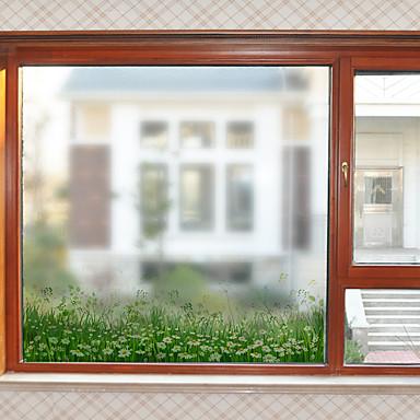 Folie okienne i naklejki Dekoracja Kwiatowy / Współczesny Kwiat PVC Naklejka okienna / Matowy / a / hol / Salon