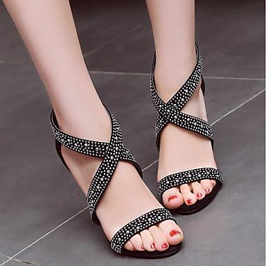 Chaussures Bout Sandales Vert amp; Noir Strass Evénement Femme Cuir Talon 06648357 Rouge Soirée ouvert Eté Boucle Nubuck Confort Aiguille 87qq6dwXc4