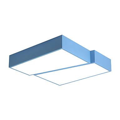 Ecolight™ Podtynkowy Światło rozproszone Malowane wykończenia Metal Wiele tonów, Wzór geometryczny 110-120V / 220-240V Ciepła biel / Chłodna biel Źródło światła LED w zestawie / LED zintegrowany