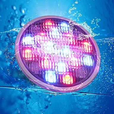 Vízalatti világítás Tompítható Vízálló Dekoratív Kültéri világítás RGB DC 12V