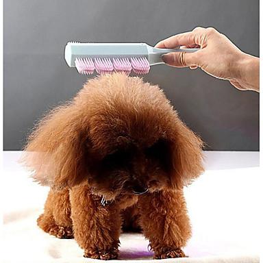 432166e9258e Σκυλιά Γάτες Καθαρισμός Βούρτσες Φορητό Μασάζ Μπλε Ροζ