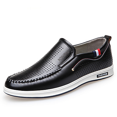 Shoes Men's Shoes 2018 New Style Office & Career/Casual Business Comfort Loafers Black (Color : Black Size : 43)