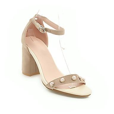 Printemps Jaune Bout Bottier Beige Rouge Sandales Similicuir Sandales ouvert Confort talons 06648971 à Talon Femme Chaussures Eté gPqwRR