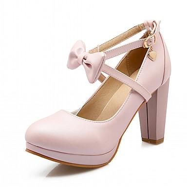 f6e8e29e0de Mujer Zapatos Sintético   PU Primavera   Otoño Confort   Innovador Tacones  Tacón Stiletto Dedo redondo