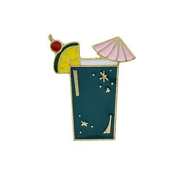 voordelige Dames Sieraden-Dames Broches beker Parrot Dames Standaard Modieus Broche Sieraden Wit Paars Groen Voor Dagelijks Afspraakje