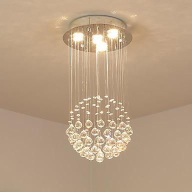 SL® 4-Light Závěsná světla Tlumené světlo - Křišťál, 110-120V / 220-240V Žárovka je zahrnuta v ceně. / GU10 / 20-30㎡