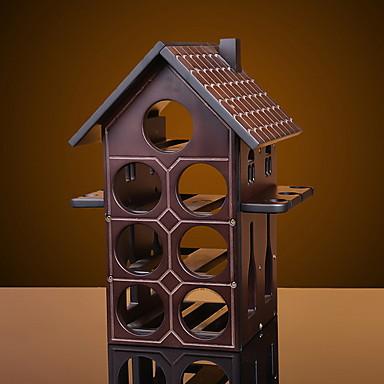 Półki na wino Drewniany, Wino Akcesoria Wysoka jakość Twórczy for Barware Łatwy w użyciu / Kreatywna nowość 1szt